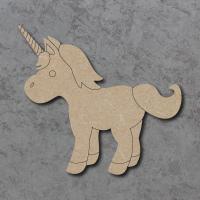 Unicorn 02 Detailed Craft Shapes