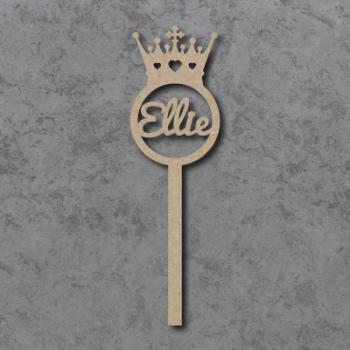 Personalised (PRINCESS) Crown Wands