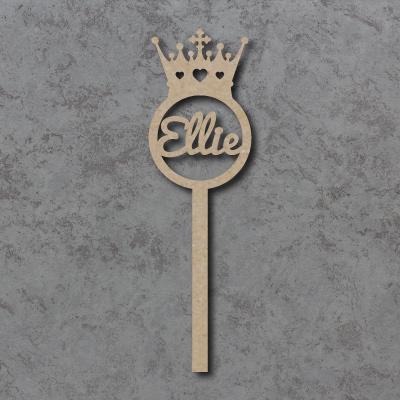 Personalised Princess Crown Wands