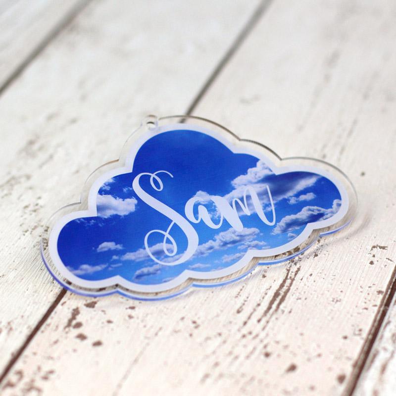 Personalised Printed Clouds