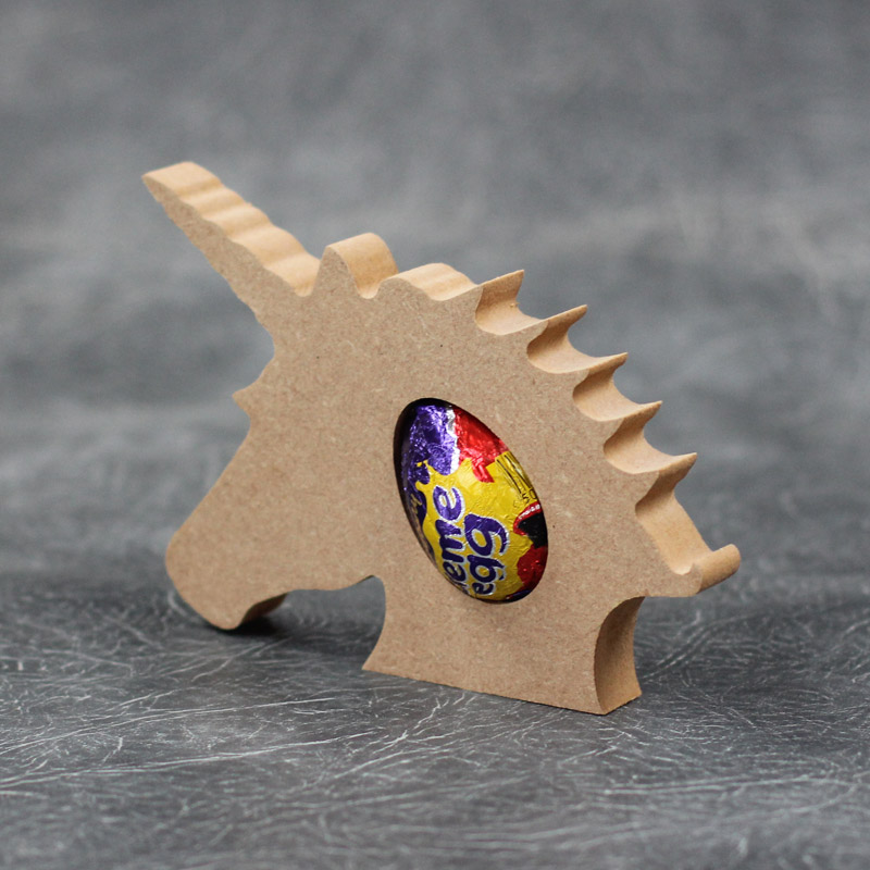 Unicorn Head Creme Egg Holder 18mm Thick