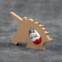 Unicorn Head Kinder Egg Holder 18mm Thick