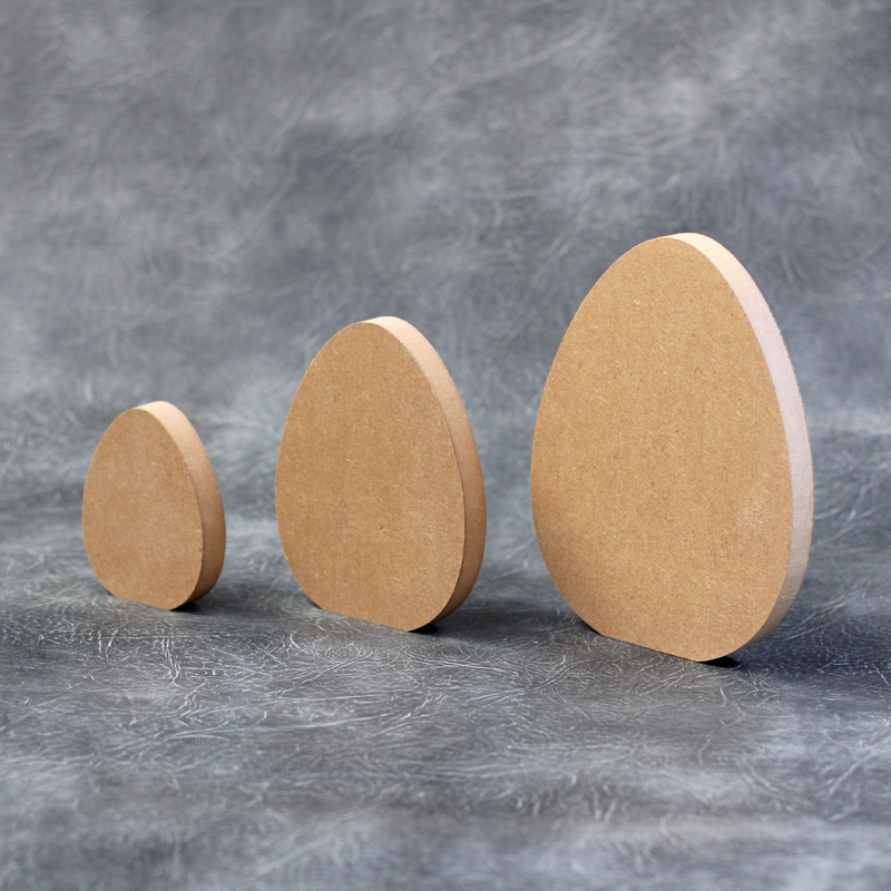 Easter Egg Craft Shapes 18mm Thick