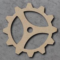 Cog 2 Blank Craft Shapes