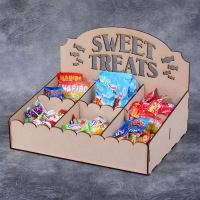 Sweet Treats Candy display stand kit - 6 compartments