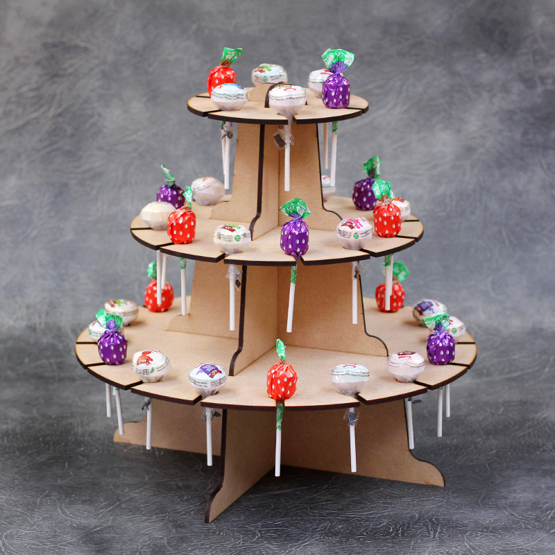 Lolly Carousel display stand kit - 3 Tier