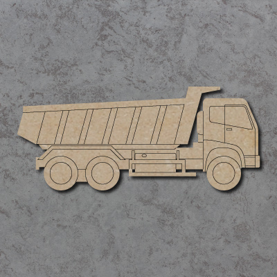 Tipper Dump Truck Craft Shapes