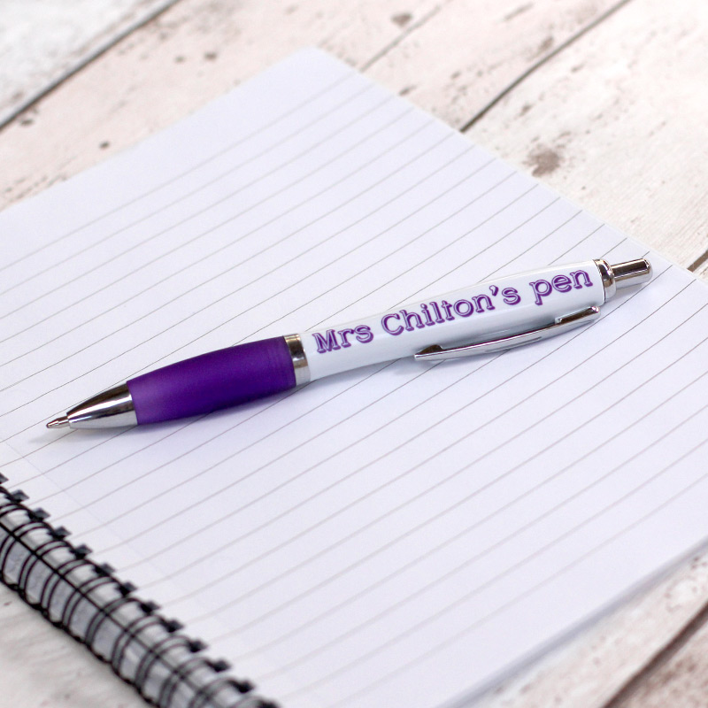 Personalised Teacher's Ball Point Pen