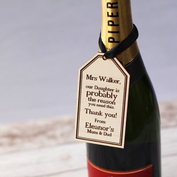 Hanging Bottle Gift Tag