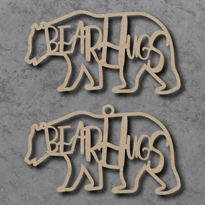 Bear Hugs Craft Sign