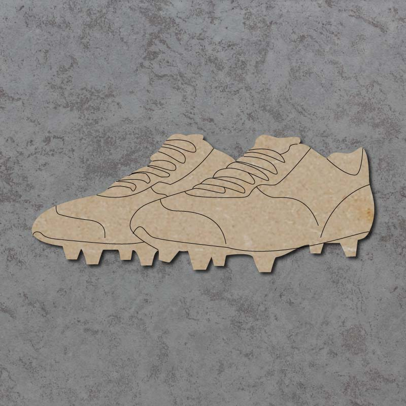 Football Boots Craft Shapes