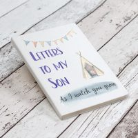 Letters To My Son Notebook - White