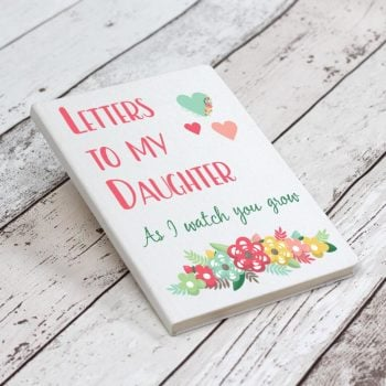 Letters To My Daughter Notebook - White