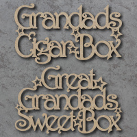 Personalised Box Topper