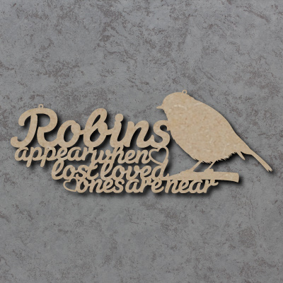 Robins Appear When Loved Ones Are Near Sign