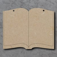 Book Detailed Craft Shapes