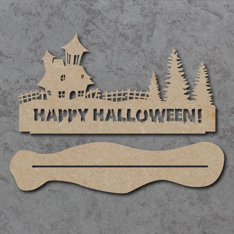 Happy Halloween Freestanding Sign