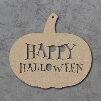 Happy Halloween Pumpkin Sign