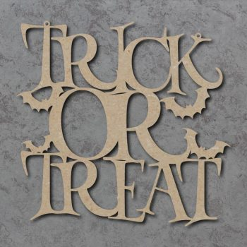 Trick Or Treat Craft Sign