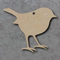 Robin Blank Craft Shapes