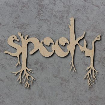Spooky Craft Sign