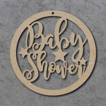 Baby Shower Circle Signs