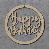 Happy Birthday Circle Signs