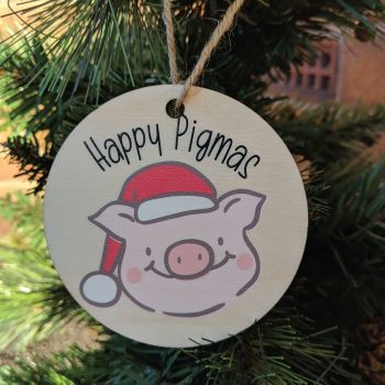 Happy Pigmas Bauble
