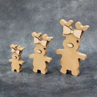 Reindeer Standing Craft Shapes 18mm Thick
