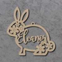 Personalised Name Bunny