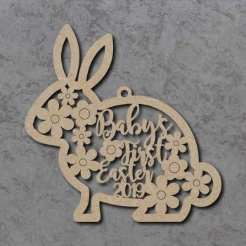 Personalised Baby's First Easter Bunny