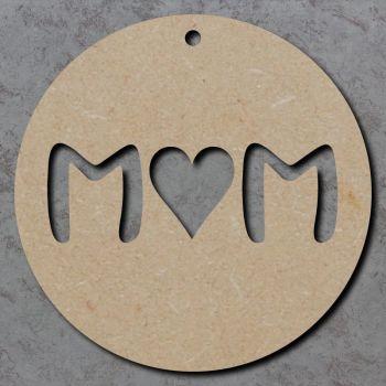 M Heart M Circle Disc