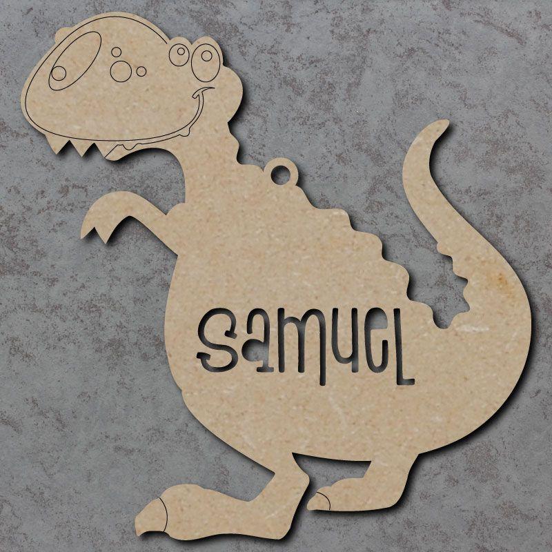 Personalised Dinosaur Craft Shapes