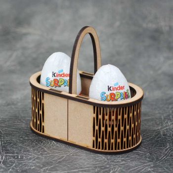 Mini Easter Egg Basket Craft Kit
