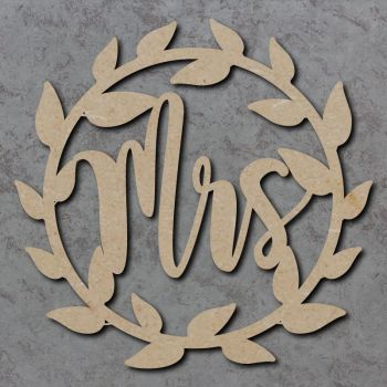 Wedding Wreath Craft Signs