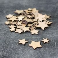 Small Star Embellishments Craft Pack