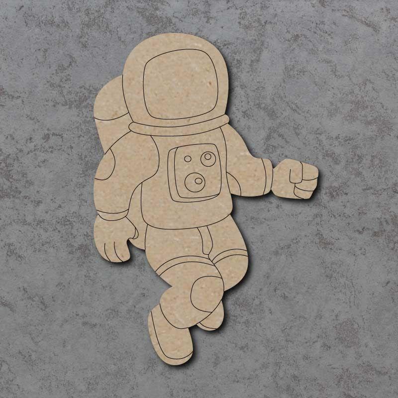 Astronaut Craft Shape