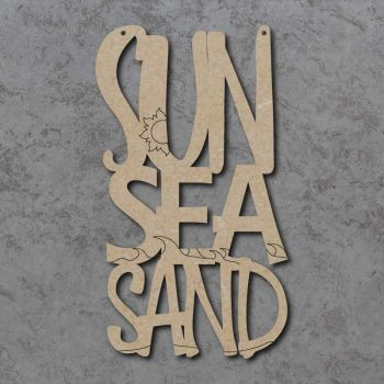 Sun Sea Sand Craft Sign