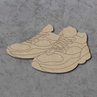 Running Trainers Detailed Craft Shapes