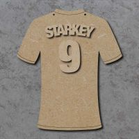 Personalised Football Shirt Plaque