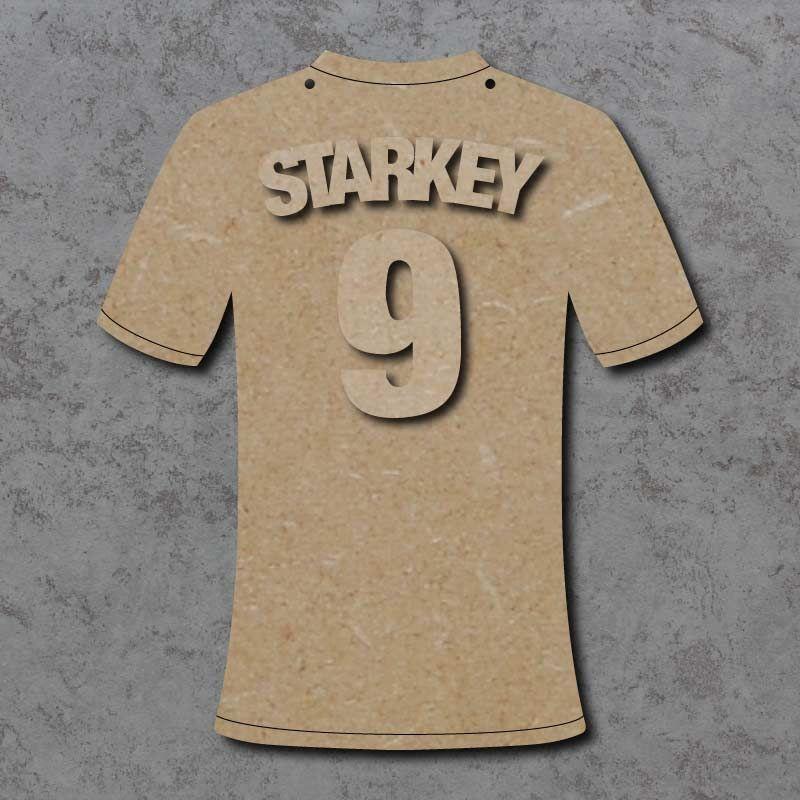 Personalised Football Shirt Plaque