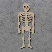 Skeleton Blank Craft Shapes