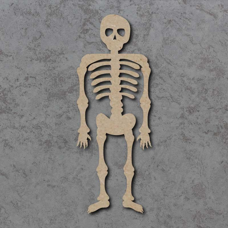 Skeleton mdf craft shapes