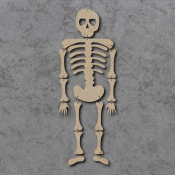 Large Hanging Skeleton mdf kit