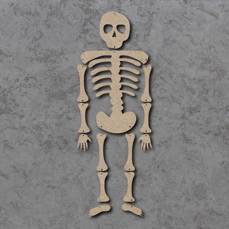 Large Hanging Skeleton mdf kit
