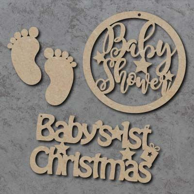 Baby Signs, Shapes and Plaques