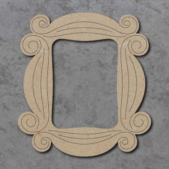 Swirly Frame Detailed Craft Shapes
