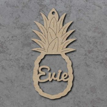 Pineapple Name Bauble