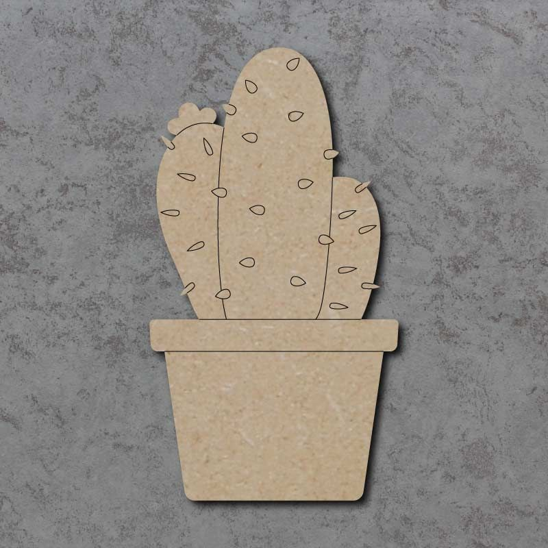Cactus Detailed Craft Shapes