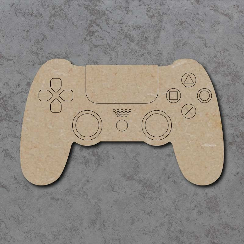 Playstation Controller Detailed Craft Shapes